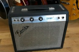 Fender Champ Silverface 1976